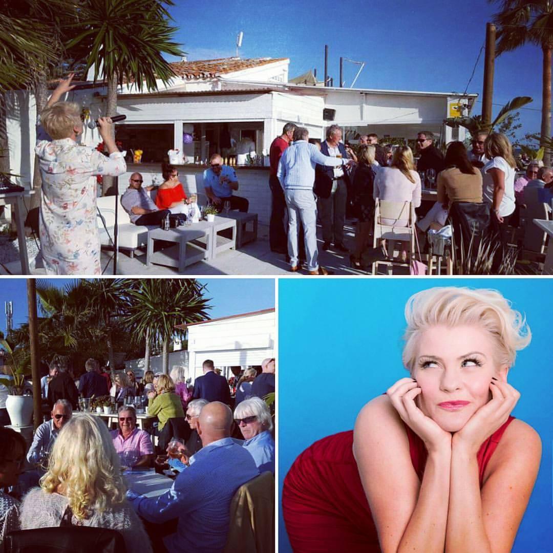 Samantha Live @ Karma Beach Marbella